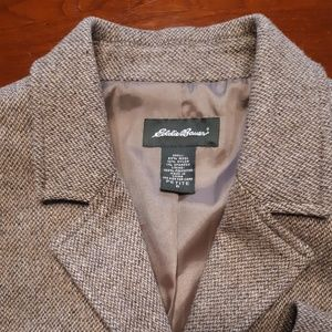 Eddie Bauer wool Tweed blazer